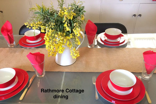 Rathmore Cottage dining