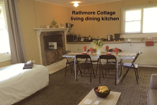 Rathmore Cottage meals