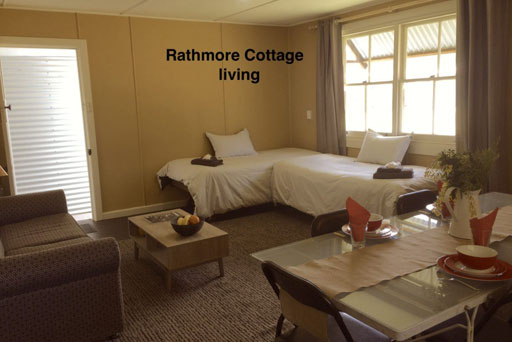 Rathmore Cottage living